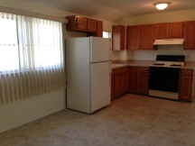 Large Eat in Kitchen with new ceramic tile flooring