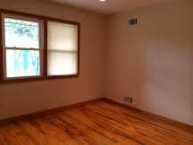 Hardwood in bedroom 2