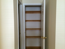 Linen closet/pantry