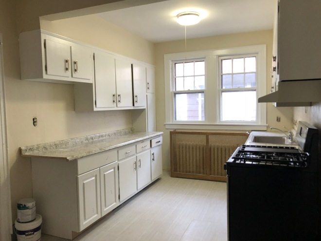 Apartment with new kitchen